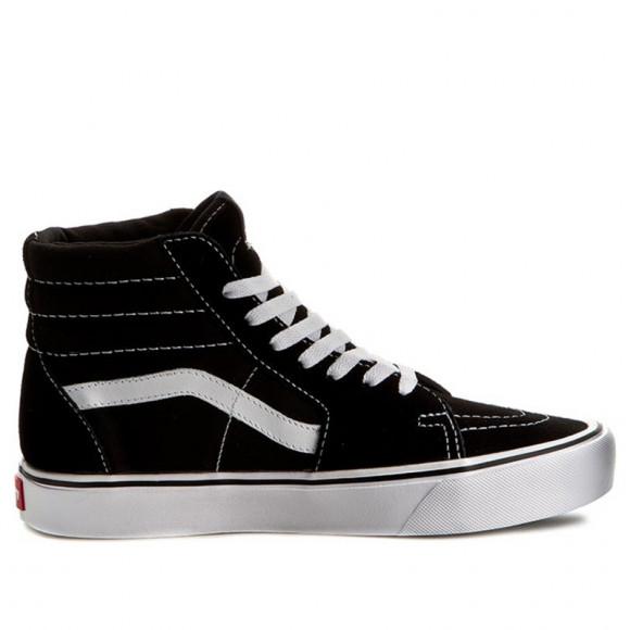 Vans Sk8-Hi Lite (Suede/ Canvas) Black/White - VN0A2Z5YIJU