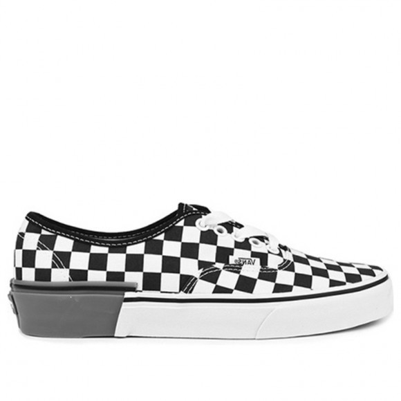 Vans Authentic 'Gum Block Checkerboard' White/Black Canvas Shoes/Sneakers VN0A38EMU58 - VN0A38EMU58