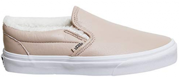 Vans Slip-On Mahogany Rose Leather (W) - VN0A38F7QTR