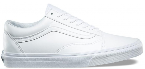 Vans Old Skool Classic Tumble White