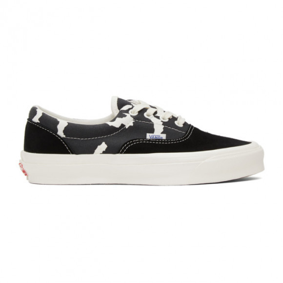 Vans Black and White OG Era LX Sneakers - VN0A3CXN4MB