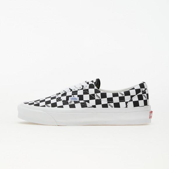 Vans OG Era LX (Canvas) Checkerboard Logo/ Black - VN0A3CXN9TB1