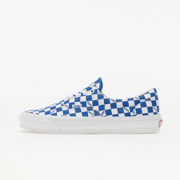 Vans Vault OG Era LX (Canvas) Checkerboard Logo/ Night Blue - VN0A3CXN9U91