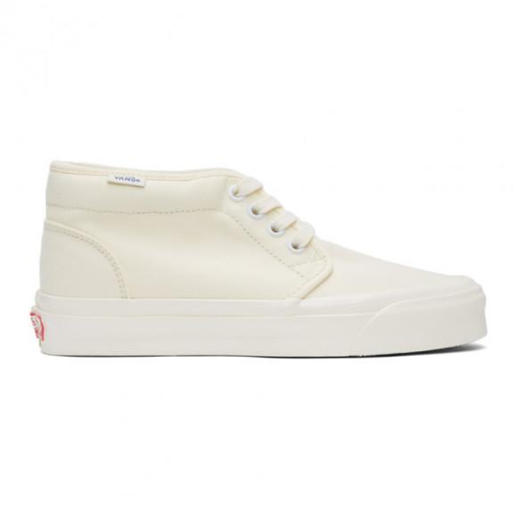 Vans Off-White OG Chukka LX Mid-Top Sneakers - VN0A3GRX0RD