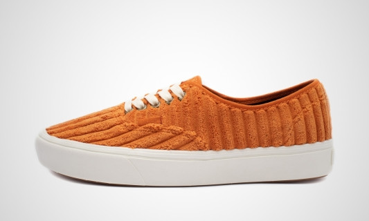 ComfyCush Authentic Jumbo Cord (orange / weiß) Sneaker - VN0A3WM7V9S