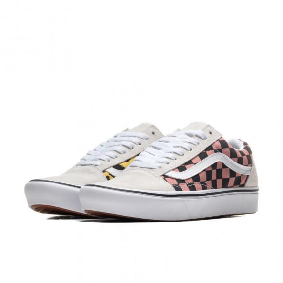 VANS Mixed Media Comfycush Era Shoes ((mixed Media) White/multi) Women White, Size 7.5 - VN0A3WM91PC1