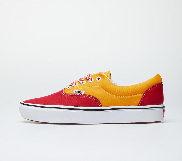 Vans Comfycush Era (Lace Mix) Red/ Cadmium Yellow - VN0A3WM9WWJ1