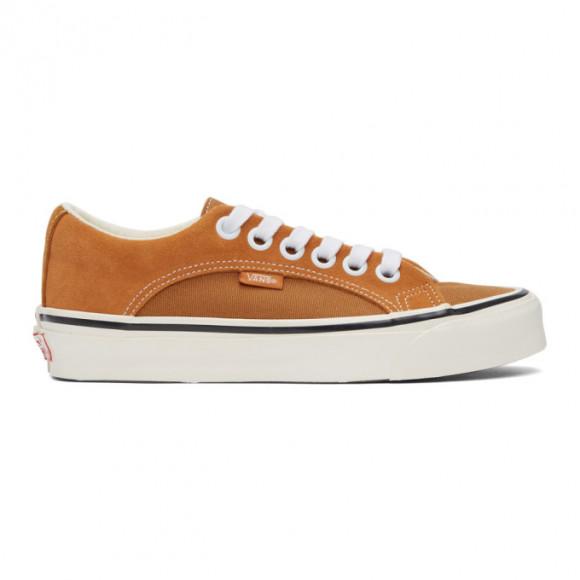 Vans Orange and Tan OG Lampin LX Sneakers - VN0A45J64MV