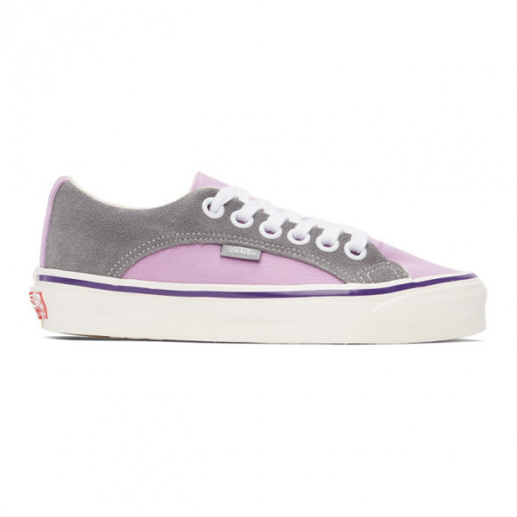 Vans Purple and Grey OG Lampin LX Sneakers - VN0A45J64NB