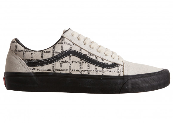 Vans Old Skool Supreme Grid White - VN0A45JC2YV