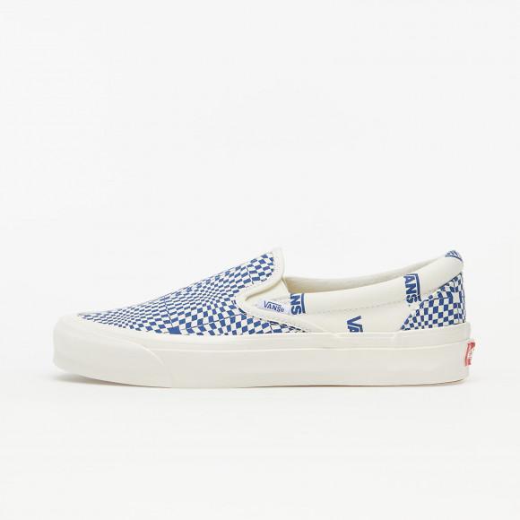 vans checkerboard bleu