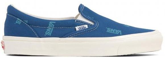Vans Slip-On Multi-Logo Blue - VN0A45JKVQF