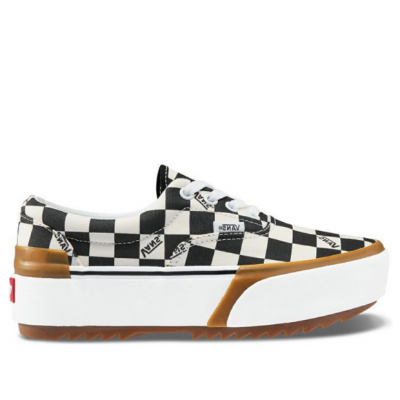 Vans Era Stacked 'Checkerboard' Multi/True White Sneakers/Shoes VN0A4BTOVLV - VN0A4BTOVLV