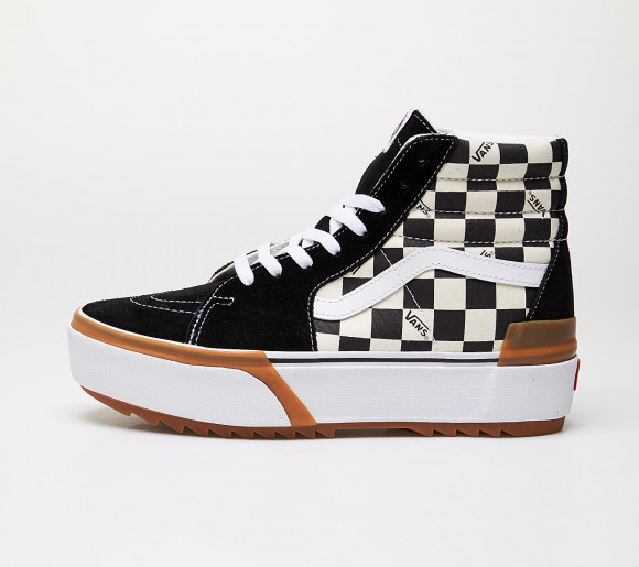 Vans Sk8-Hi Stacked (Checkerboard) Checkerboard/ True White - VN0A4BTWVLV1