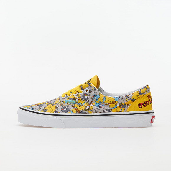 VANS The Simpsons X Vans Itchy & Scratchy Era Shoes ((the Simpsons) Itchy & Scratchy) Women Yellow, Size 10.5 - VN0A4BV41UF1