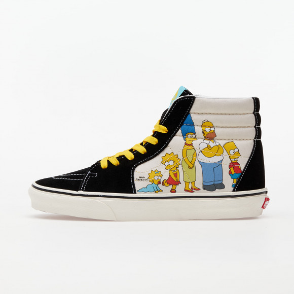 VANS The Simpsons X Vans 1987-2020 Sk8-hi Shoes ((the Simpsons) 1987-2020) Women Yellow, Size 9.5 - VN0A4BV617E1