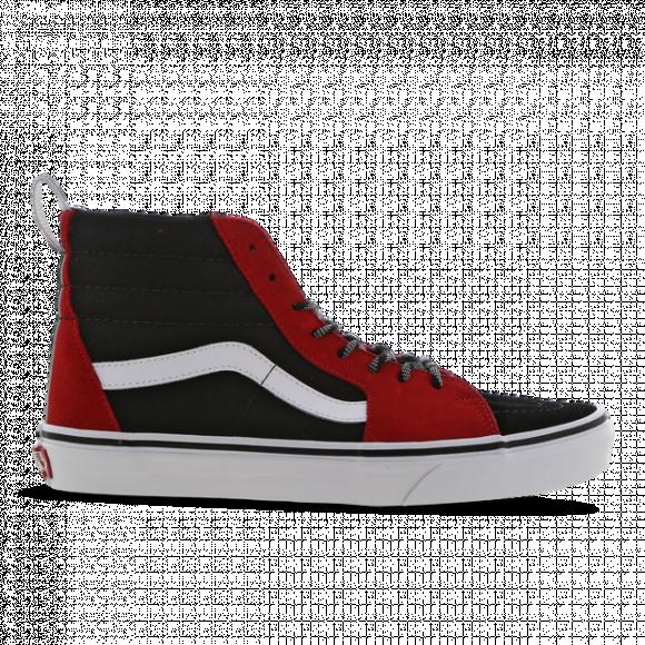 vans mens shoes red