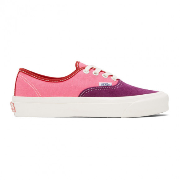 Vans Pink and Purple OG Authentic LX Sneakers - VN0A4BV91XV