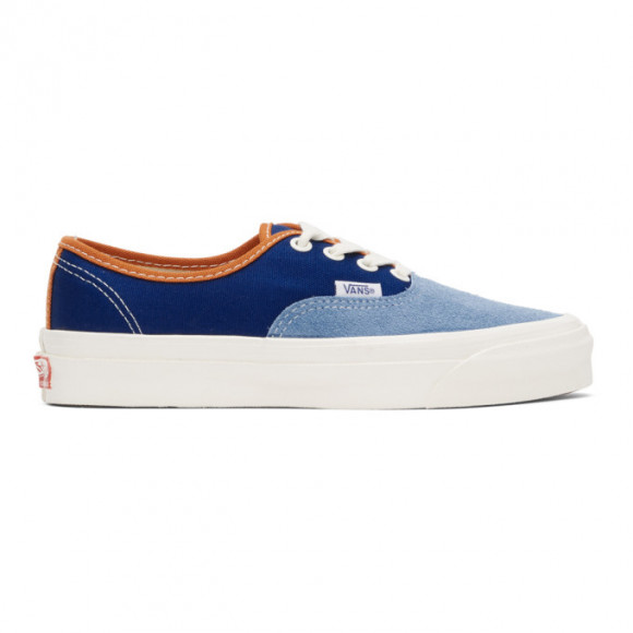 Vans Blue OG Authentic LX Sneakers - VN0A4BV91YH