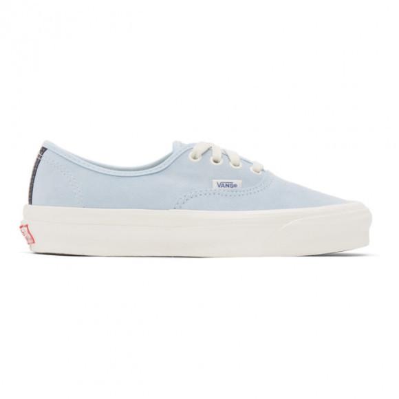 Vans Blue Suppress OG Authentic LX Sneakers - VN0A4BV94J4