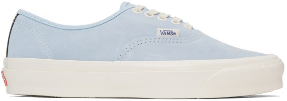 Vans Blue Suede OG Authentic LX Sneakers - VN0A4BV94J41