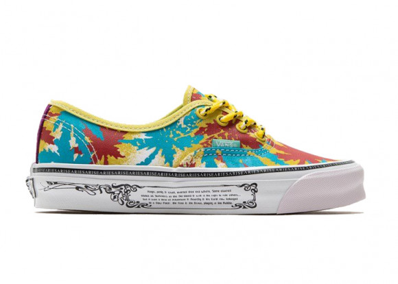 Vans Vault UA OG Authentic LX Aries Weed Leaf Yellow - VN0A4BV99QW1