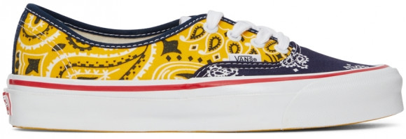 Vans Multicolor Bedwin & The Heartbreakers Edition OG Authentic LX Sneakers - VN0A4BV99QX