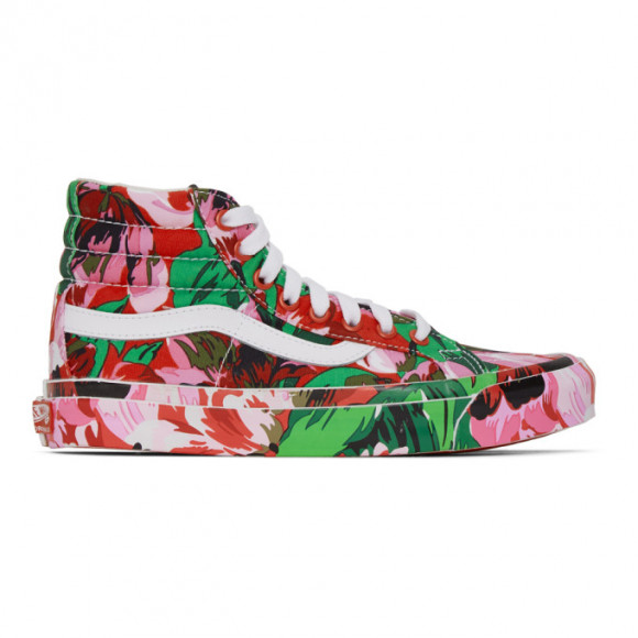 Kenzo Multicolor Vans Edition OG Sk8-Hi LX Sneakers - VN0A4BVB02G