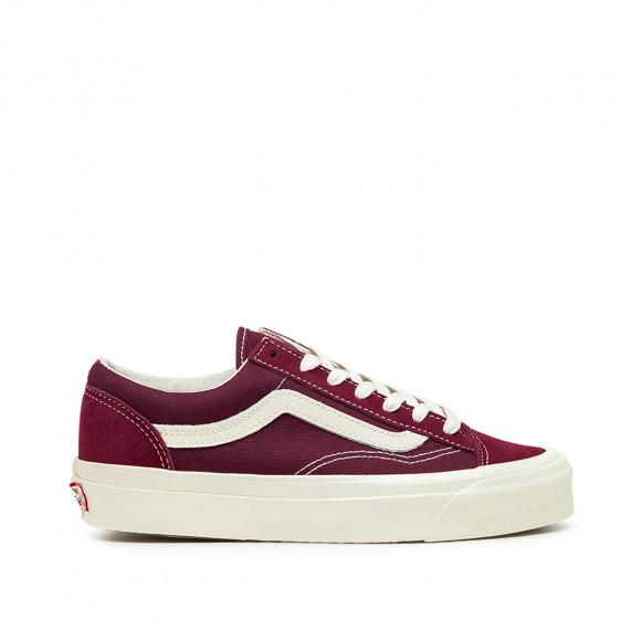 Vans Vault OG Style 36 LX (Suede/ Canvas) Pomegranate/ Classic White - VN0A4BVE9X71