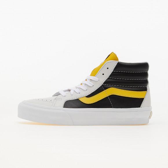Vans Vault Sk8-Hi Reissue (Leather) White/ Black/ Freesia - VN0A4BVHA0I1