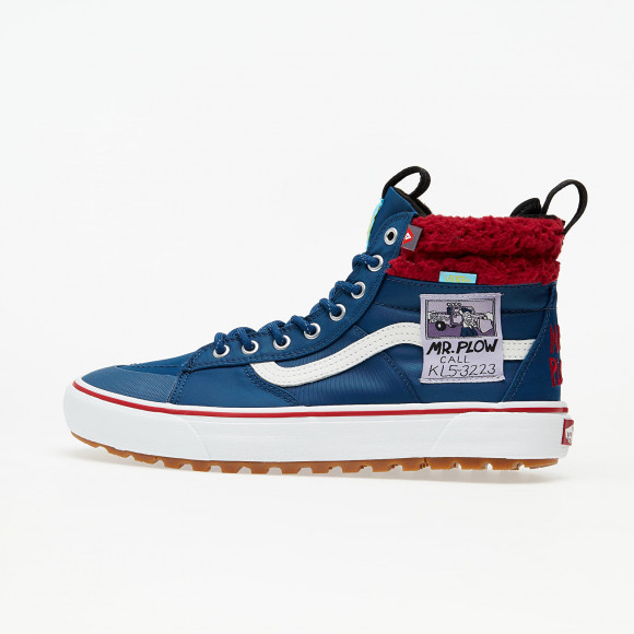 VANS The Simpsons X Vans Mr. Plow Sk8-hi Mte 2.0 Dx Shoes ((the Simpsons) Mr. Plow) Women Blue, Size 10 - VN0A4P3I23V1