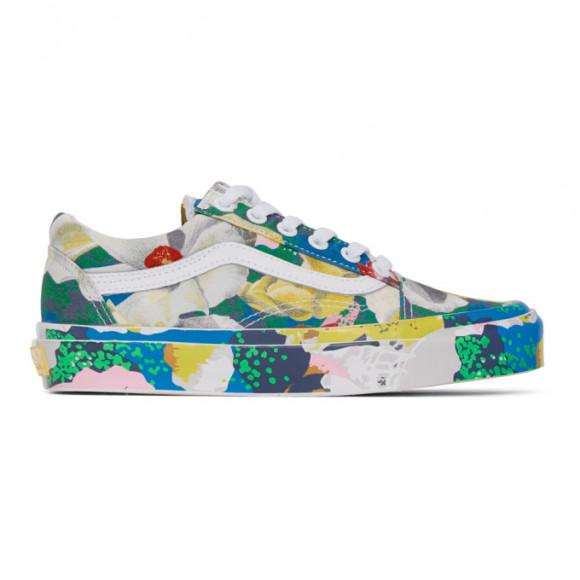 Kenzo Multicolor Vans Edition OG Old Skool LX Sneakers - VN0A4P3X01H