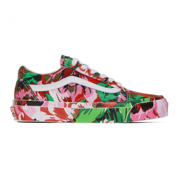 Kenzo Multicolor Vans Edition OG Old Skool LX Sneakers - VN0A4P3X02G
