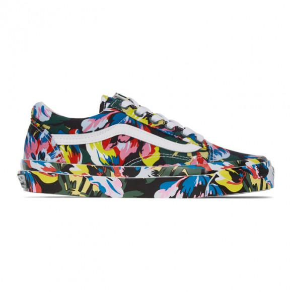 Kenzo Multicolor Vans Edition OG Old Skool LX Sneakers - VN0A4P3X02H