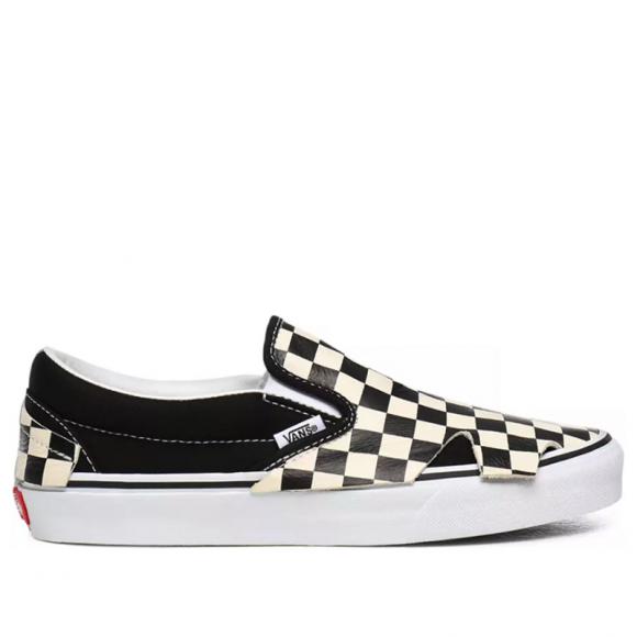 Classic Slip-On 'Origami - Checkerboard' Black/True White VN0A4TZTQXH - VN0A4TZTQXH