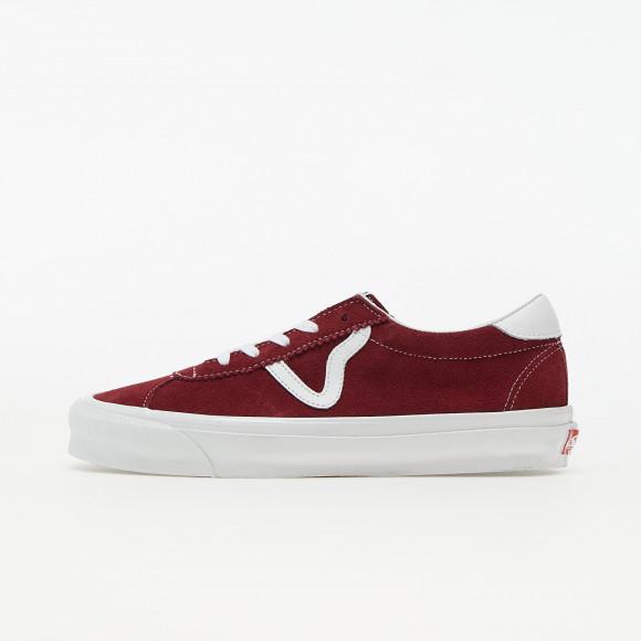 Vans Vault OG Epoch LX (Suede) Pomegranate/ True White - VN0A4U129J91