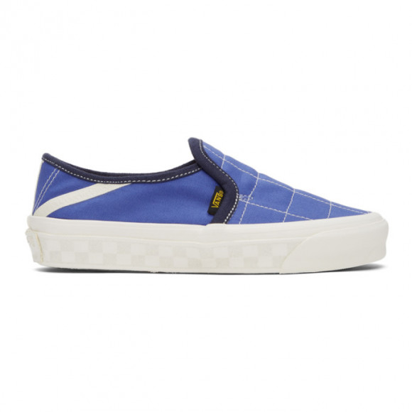 Vans Blue Taka Hayashi Edition 47 LX Slip-On Sneakers - VN0A4U1H50G