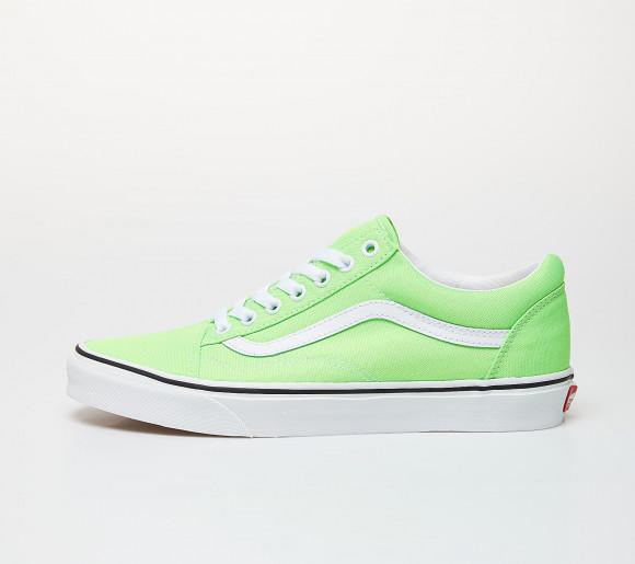 Vans Old Skool (Neon) Green Gecko/ True White - VN0A4U3BWT51