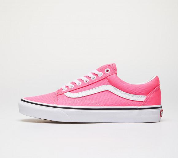 Vans Old Skool (Neon) Knockout Pink/ True White - VN0A4U3BWT61