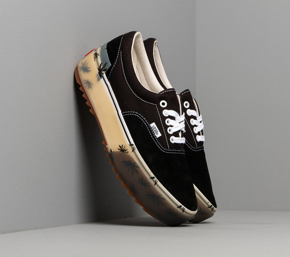 Vans Era Stacked LX (Suede/ Canvas) Black - VN0A4U4CXA51