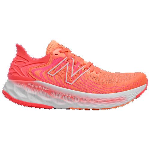 New Balance Fresh Foam 1080 V11 - Women's Running Shoes - Citrus Punch / Vivid Coral - W1080C11-B