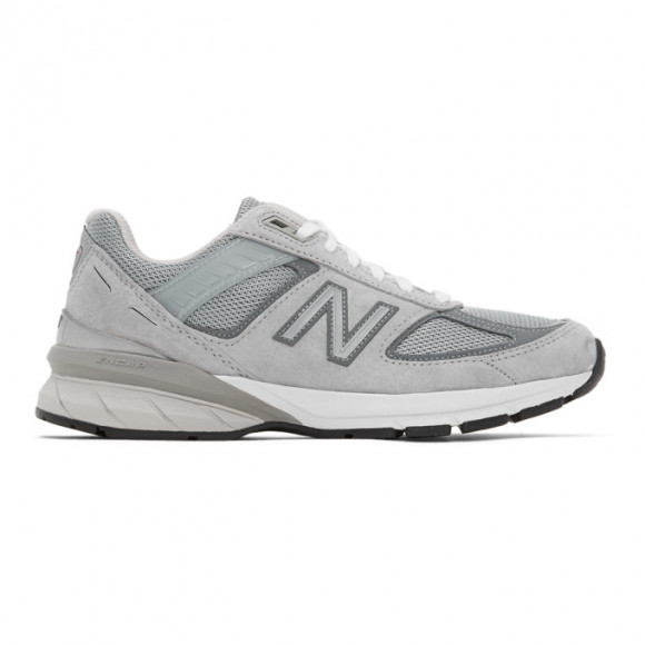 New Balance 990v5 Running Shoes Grey- Womens- Size 9 B - W990GL5