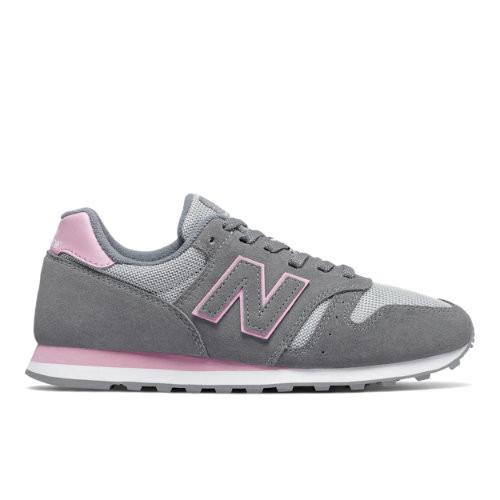 Womens New Balance 373 - Gunmetal/Oxygen Pink, Gunmetal/Oxygen ...