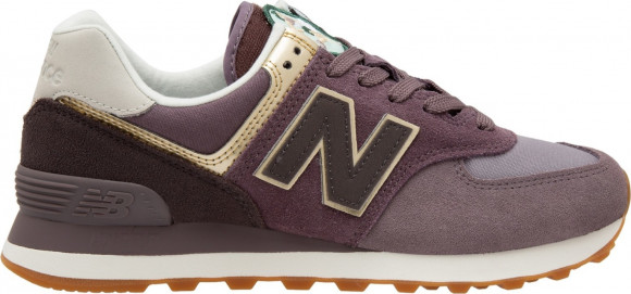 New Balance 574 Metallic Patch Purple (W) - WL574MLB