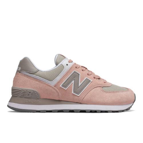 New Balance 574 Pink/ Grey - WL574NDA