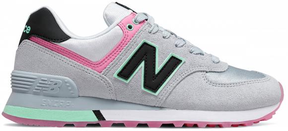 New Balance 574 Grey/ Pink - WL574SAT