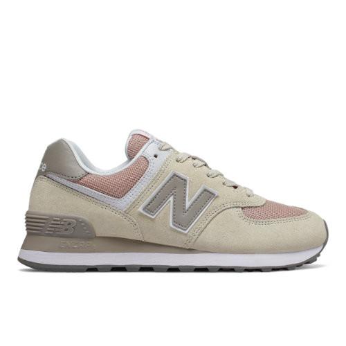New Balance 574 Beige/ Rose - WL574WNA