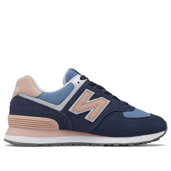 New Balance 574 Blue/ Pink - WL574WND