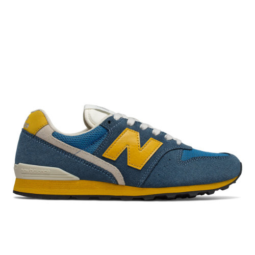 new balance 996 blu gold