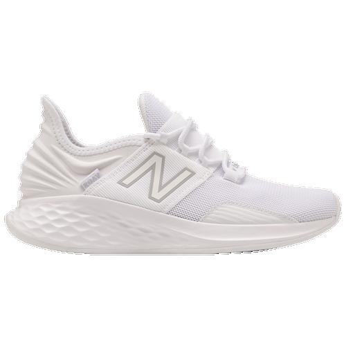 New Balance Fresh Foam Roav - Women's Running Shoes - White / White / White - WROAVJW-B